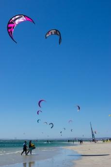 Langebaan kitesurf spot kiteboard