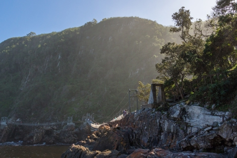 Tsitsikamma suspension bridge hang brug