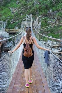 Tsitsikamma hang brug suspension bridge