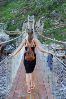 Tsitsikamma hang brug suspension bridge